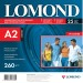 Lomond Premium Photo Paper Super Glossy 260 g/m2 A2, 25 sheets, Bright