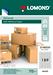 Lomond Self-Adhesive Universal Labels, 189/25,4x10, A4, 50 sheets